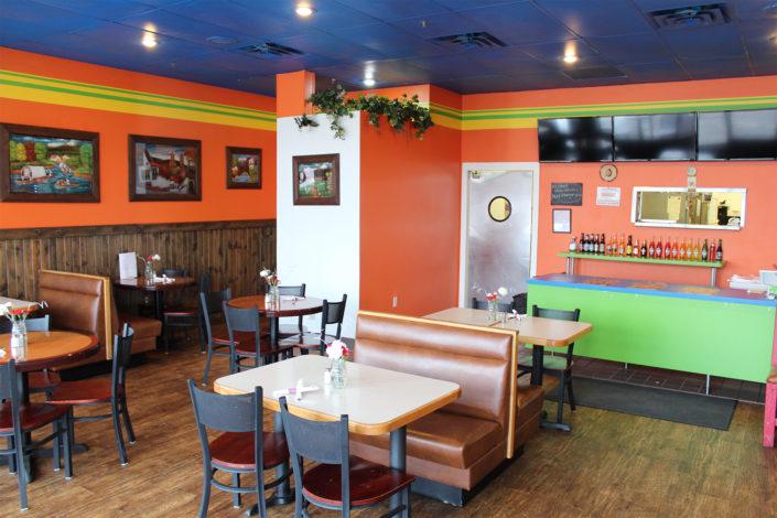 las-enchiladas inside the restaurant