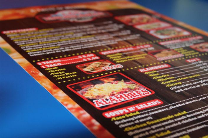 las-enchiladas menu